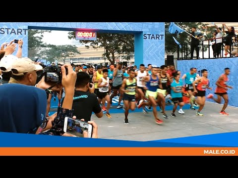 Serunya Lomba Lari NB Run On 2018 - Male Indonesia