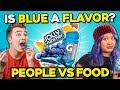 What Does Blue Taste Like People Vs Food