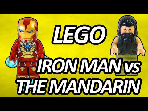 Vidéo LEGO Marvel 76008 : Iron Man contre le Mandarin : L'ultime combat