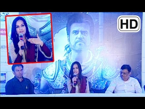 Soundarya R. Ashwin || Speaks about || Rajinikanth's Vikramasimha Movie