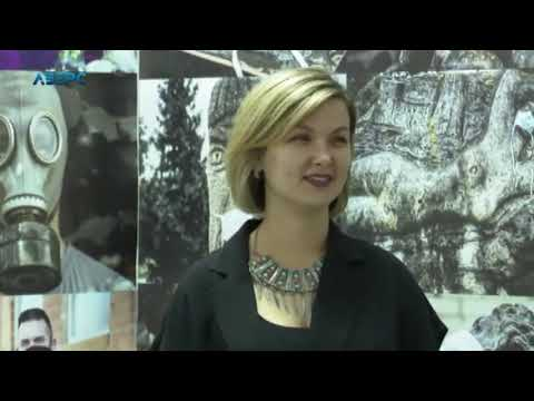 У луцькій Галереї мистецтв презентували мультимедійну виставку - YouTube