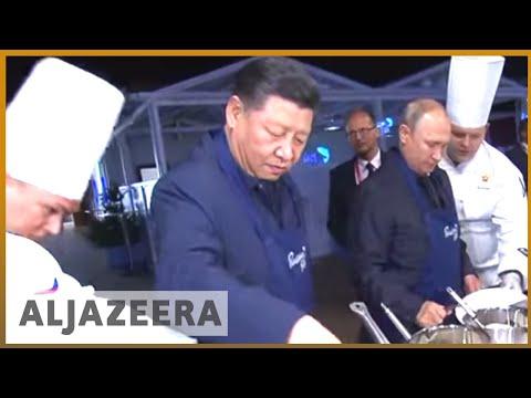 🇨🇳 🇷🇺 Xi, Putin meet as Russia kicks off biggest ever war games | Al Jazeera English