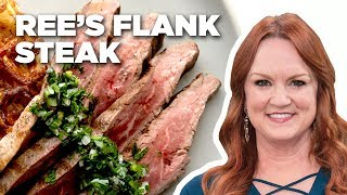 The Pioneer Woman Makes Flank Steak and Waffle Hash Browns   Food Network