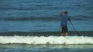 SUP instruction with Dave Kalama: How To Stand Up Paddle Board:  Lesson 10 - Catching A Wave