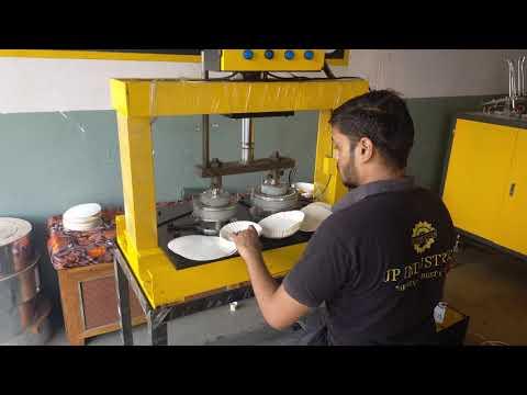 Hydraulic Semi Automatic Disposal Plate Making Machine