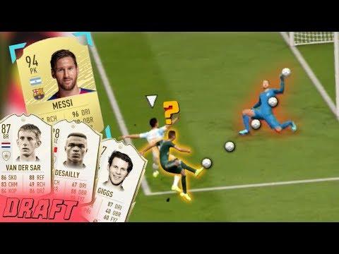 MESSI, 3 IKONY A PRVNÍ DRAFT VE FIFA 20!