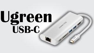 Ugreen USB Type-C Hub - Dual USB 3.0 ports / 4K HDMI interface / SD card reader