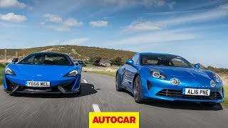[Autocar] McLaren 570S vs Alpine A110 - Which is the ultimate car?