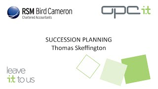 preview picture of video 'OPC Business xChange - Finance - Succession Panning'