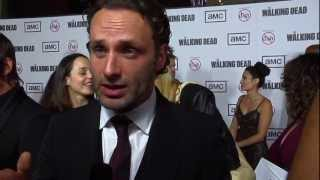 The Walking Dead Season 3 Premiere and Cast Reactions to Halloween Horror Nights maze