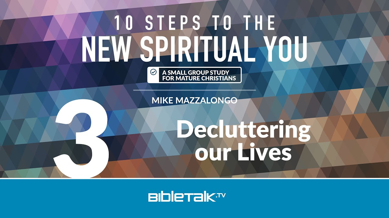3. Decluttering our Lives