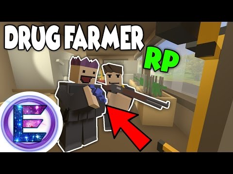 SWAT RAID !?! - DRUG FARMER RP - They will not take our Drugs ! - Unturned Roleplay