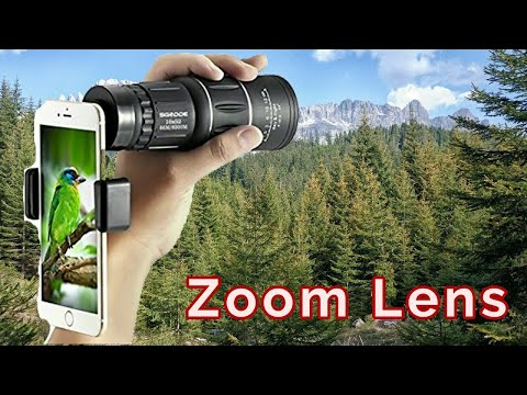 Cell Phone Zoom Monocular Lens Review
