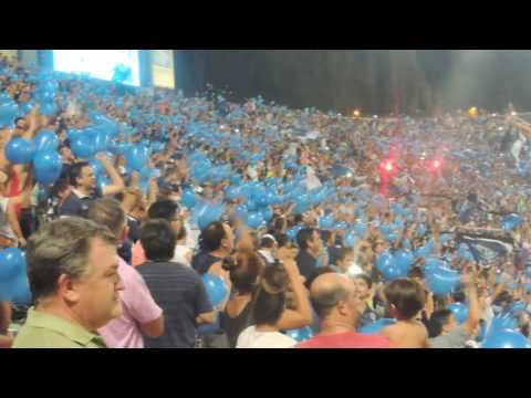 """""""los caudillos del parque vs river plate ( nos dicen los caudillos, somos del parque)"""" Barra: Los Caudillos del Parque • Club: Independiente Rivadavia"""