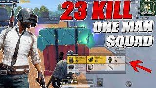 BOOTCAMP'DE BAŞLAYIP BİTEN İNANILMAZ ÇATIŞMA - 23 KILL One Man Squad - Pubg Mobile