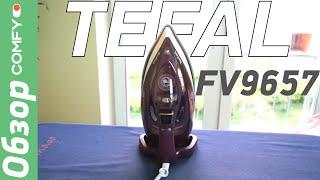 Tefal FV9657 - современный утюг с мощным паровым ударом - Обзор от Comfy.ua