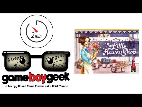 The Game Boy Geek's Allegro (2-min Review) of The Little Flower Shop