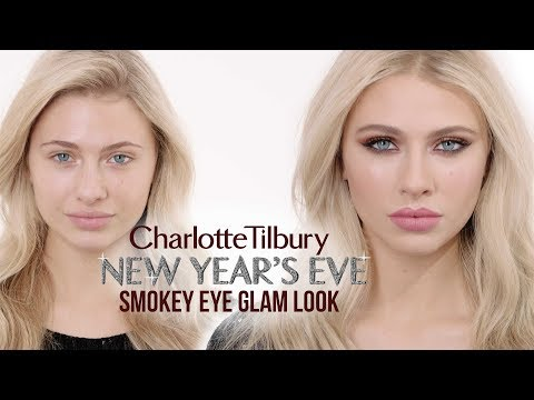 New Year's Eve Glam Smokey Eye Makeup Tutorial | Charlotte Tilbury