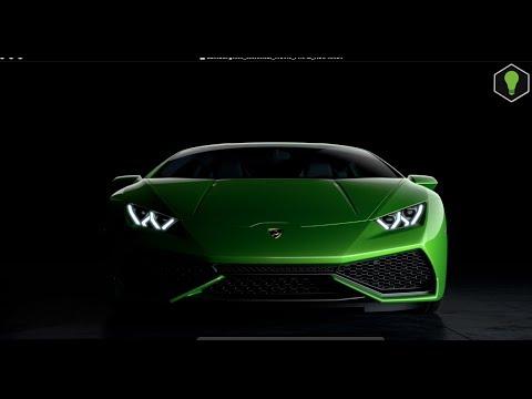 Lamborghini Huracán LP 610-4 technical official movie