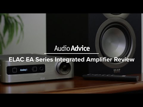 ELAC EA Series Integrated Amplifier Review (EA101EQ-G)