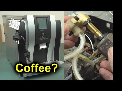 EEVblog #1161- Automated Coffee Machine Dumpster Teardown