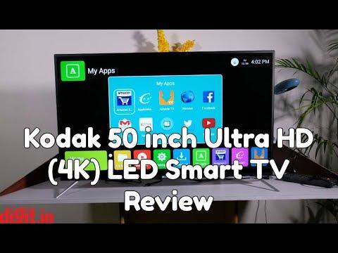Kodak 50 inch Ultra HD (4K) LED Smart TV Review | Digit.in