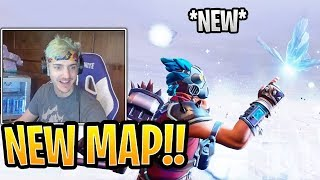 "Ninja Goes CRAZY Over *NEW* LIVE Cube FINAL Event ""BUTTERFLY""! - Fortnite Best and Funny Moments"