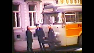 preview picture of video '2  Öcher Tram Linie 51 O-Bus'