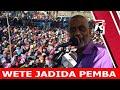 #LIVE 🔴  MUENDELEZO WA KAMPENI CHAMA CHA ACT WAZALENDO PEMBA WETE JADIDA 12.10.2020