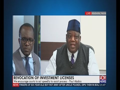 Revocation Of Investment Licenses - PM Express on JoyNews (11-11-19)