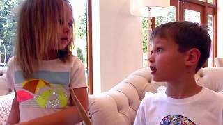 Барабаны для Макса и Кати или Max & Katy play on Musical Instruments