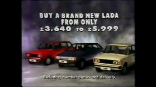 Реклама Лады за Рубежом в разные времена