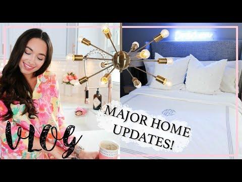 VLOG | MAJOR HOME UPDATES! | NEW FURNITURE, DECOR, D.I.Y'S | Alexandra Beuter