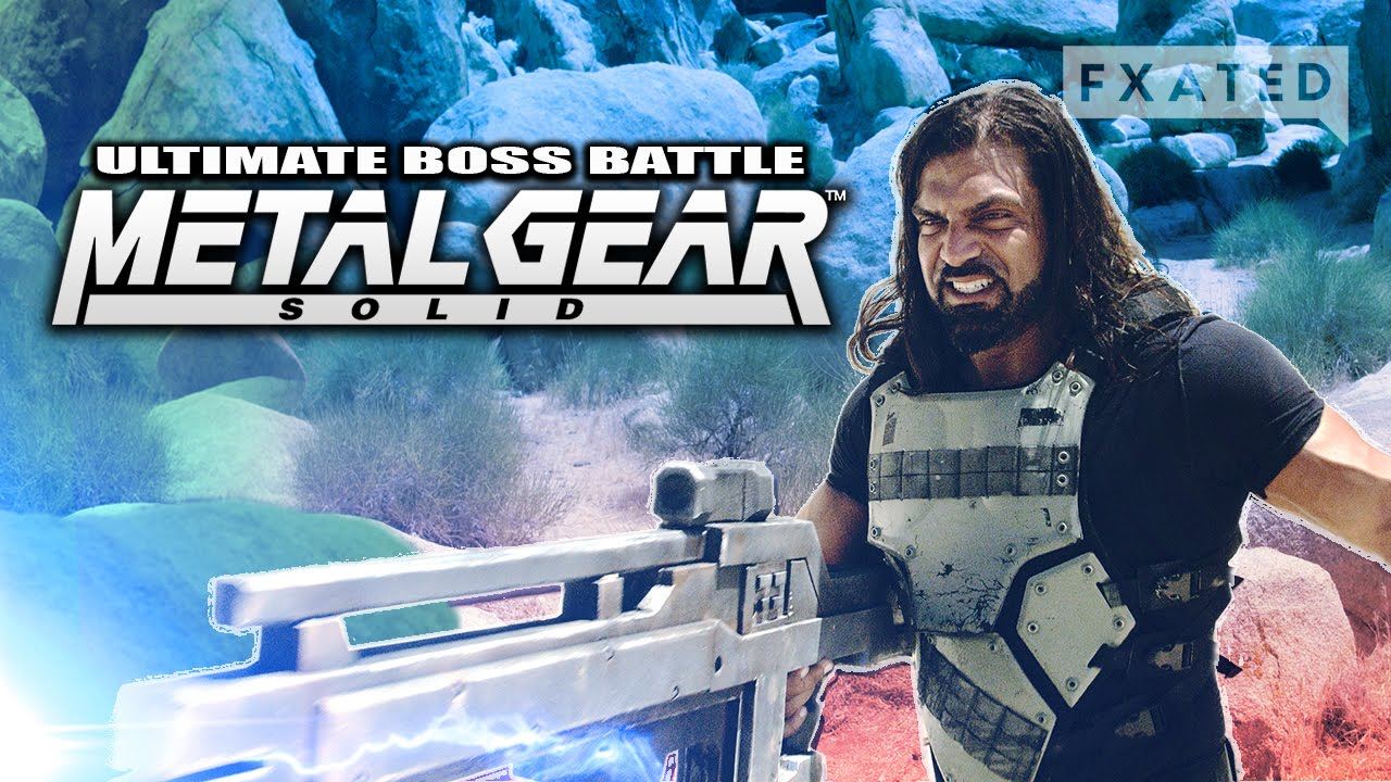 The Worst Metal Gear Solid Boss Battle Ever