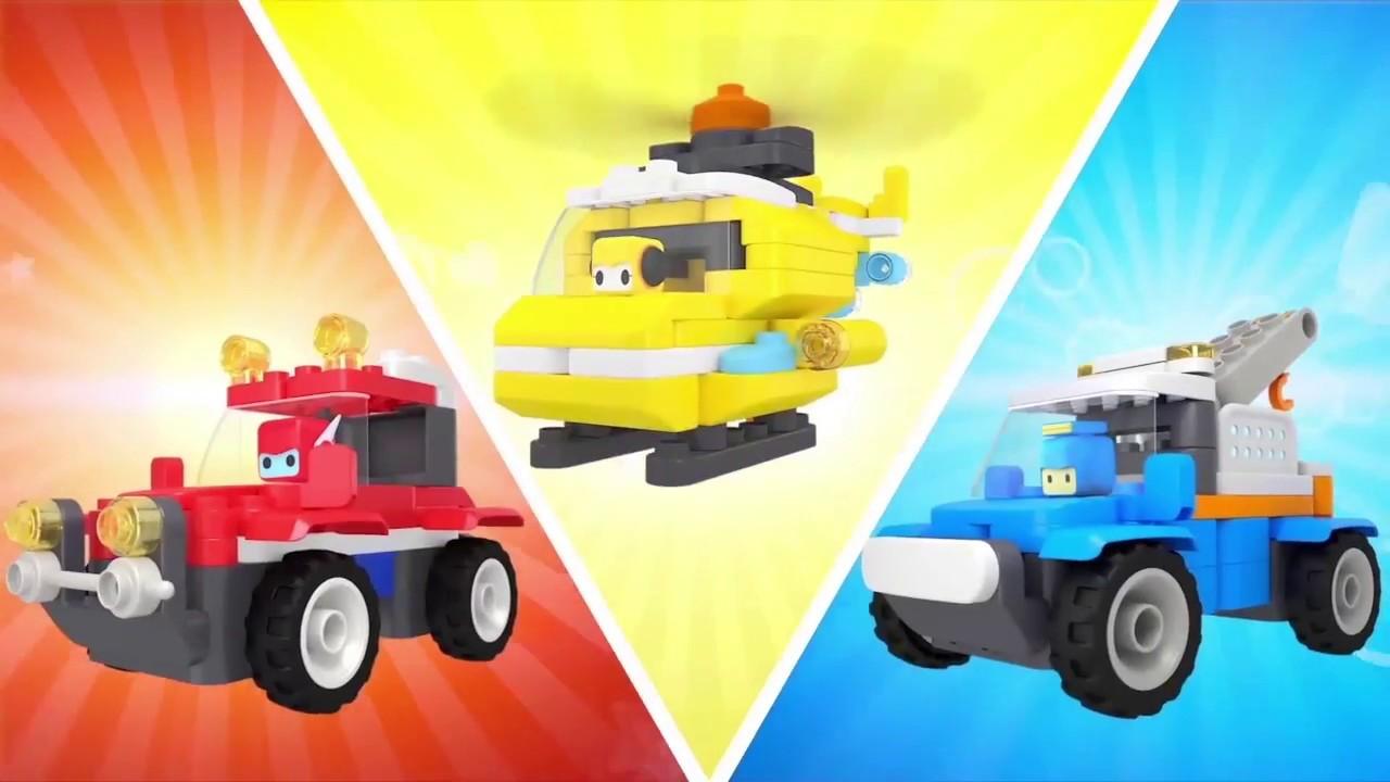Конструктор Pai Blocks Racecar + пульт ДУ 62007W video preview