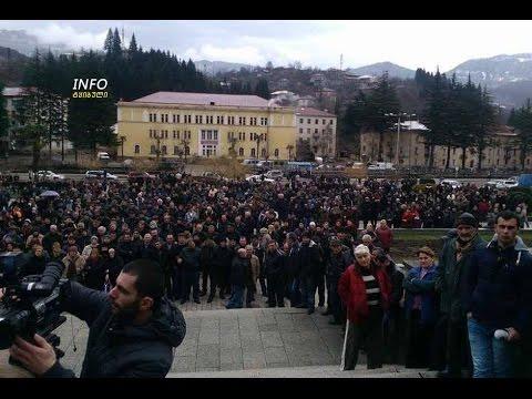 Грузия. Разгневанные шахтеры на фоне экономического кризиса
