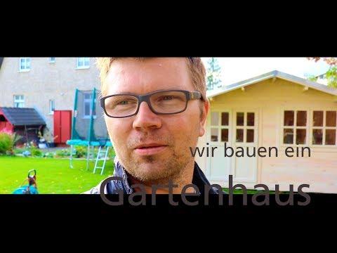 Gartenhaus Aufbau in Berlin Mahlsdorf, 4x4 Meter