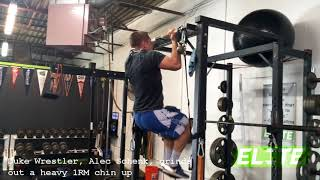 Alec Schenk STRONG 310 LB Chin-Up