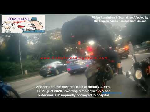 Accident Between Motorcycle and Car