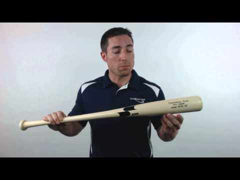 SSK Robinson Cano Pro Maple Wood Baseball Bat: RC22 Natural