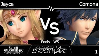 USW 1 - Jayce (Zelda) vs TLOC | Comona (Chrom) Pools - WS - SSBU