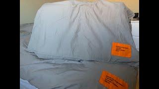 Virgil Abloh X IKEA MARKERAD Duvet Cover & Pillowcases