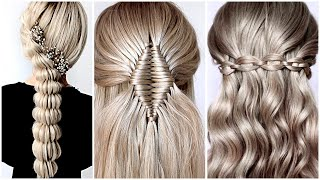 😱 10 Easy Braid Hairstyle Tutorial 😍 Hairstyle Transformations