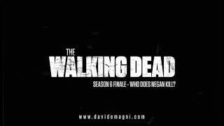 The Walking Dead S06 Finale - AUDIO ANALYSIS: Who Does Negan Kill?