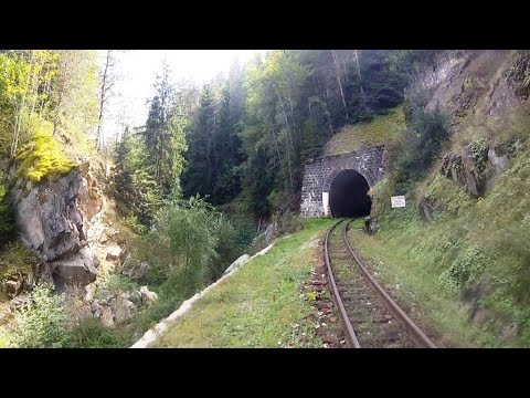 EU 2016: Bulgaria - Rhodope Mountain Railway – Driver's Eye …