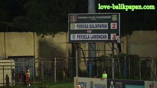 Persiba Balikpapan VS Persela Lamongan 30 November 2016