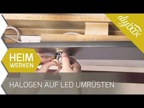 Halogen auf LED umrüsten (12V auf Hochvolt)