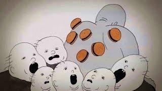 穷人身上长满汉堡,供富人享用!一部借汉堡讽刺人性丑陋的黑暗短片!