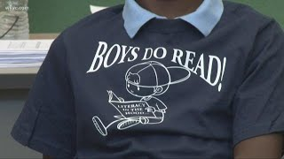 Boys Do Read: 8-year-old boy starts reading movement in Cleveland
