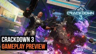 Crackdown 3 preview - Taking on the final boss at level 1
